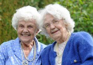 Ena Pugh dan Lily Milward