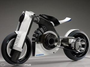 Honda Oree Sebagai Contoh Dari Sepeda Motor Listrik