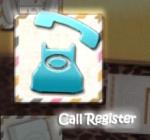 Call Register【着信履歴】
